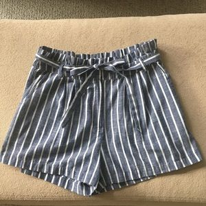 2 FOR $20 CLEARANCE Paper Bag Waist Shorts